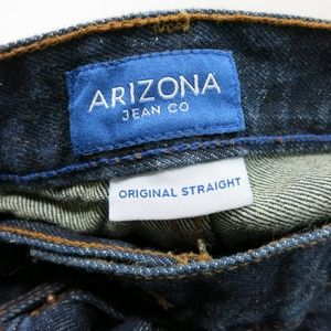 Arizona Jean Company Blue Jeans Straight 40 X 34